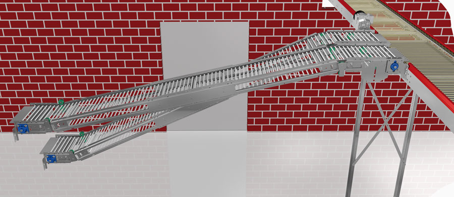 Rod Conveyor - Lubing