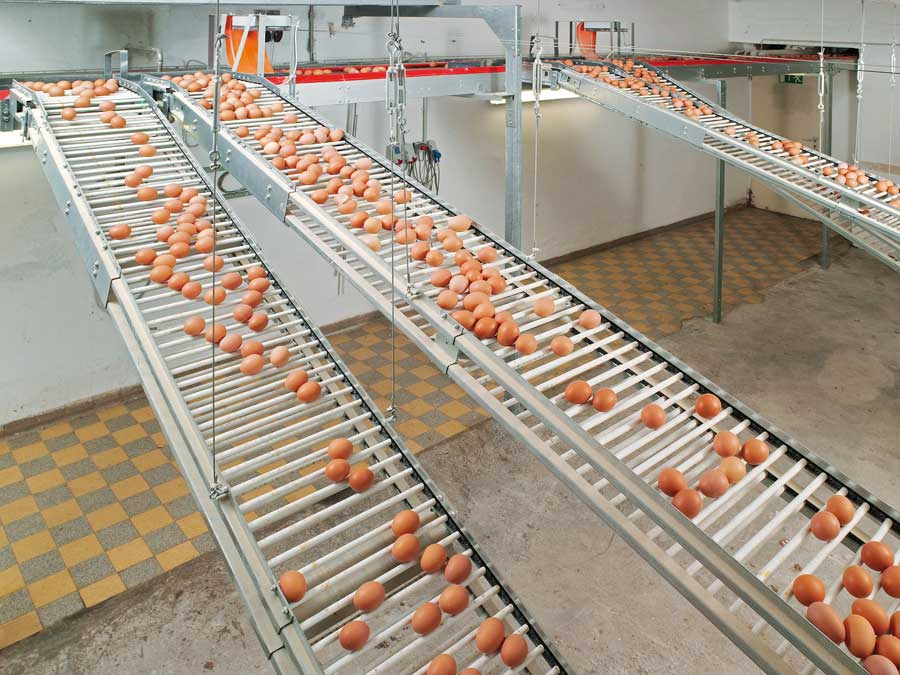Rod Conveyor Lubing